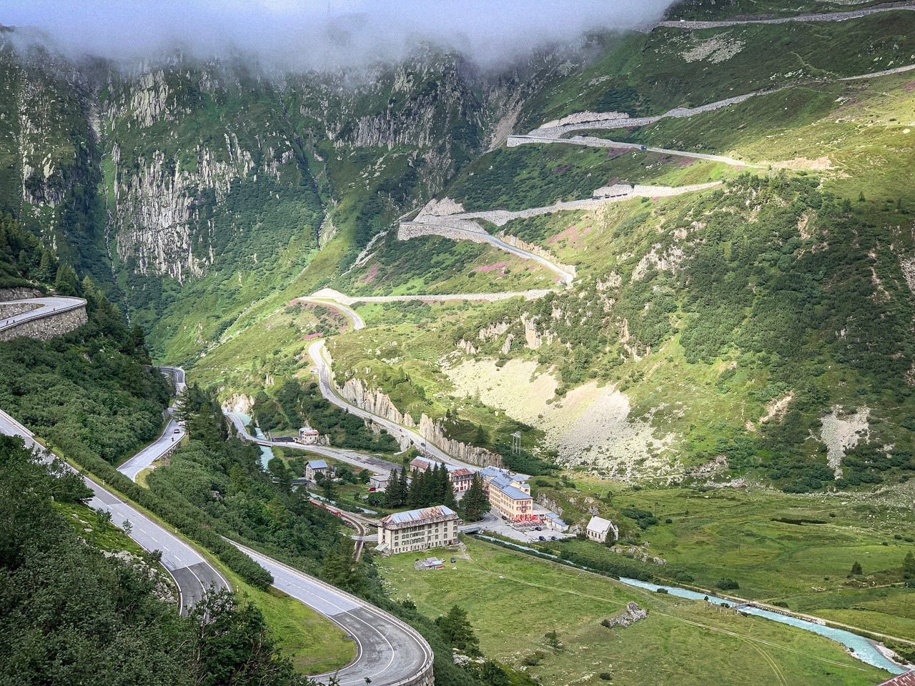 A Private Trip the winding roads of Switzerland