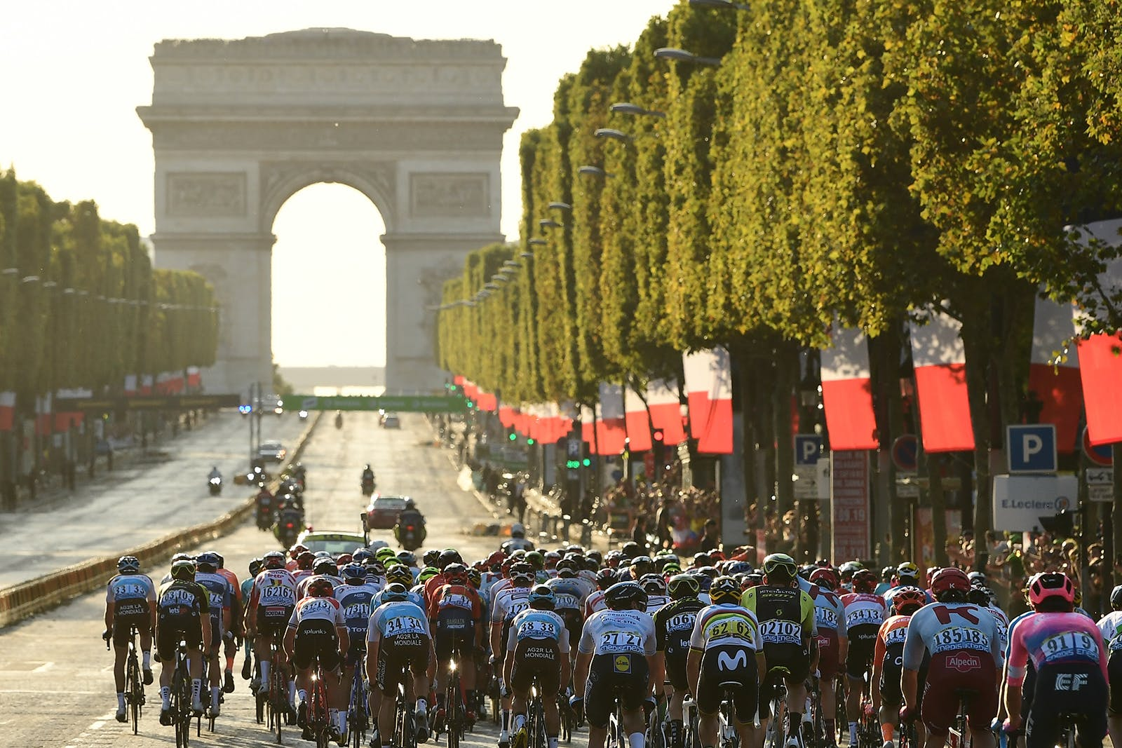 Stage 21, the race finishes in Paris in 2019